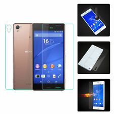 3D Premium 9H Front+Back HTempered Glass Screen Protector Film For Sony Xperia