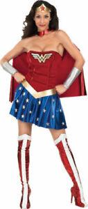Wonderwoman Costume Sexy Adult Super Hero Wonder Woman M-L