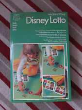 1974 WADDINGTONS DISNEY LOTTO GAME 100% COMPLETE VGC