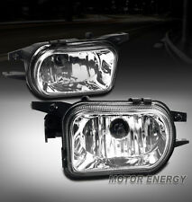 01-06 MERCEDES-BENZ C-CLASS W203 BUMPER FOG LIGHTS CHROME C230 C240 C280 C350