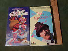 Pink Panther: A Pink Christmas (VHS, 1989) + Pink Panther (VHS, 1965) Niven