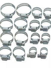 10 Pieces Jubilee Hose Clamps Pipe Clamps  Garage Plumbing Air Oil Water Car