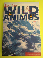 Wild Animus A Novel Rick Shapero Advance Reading Copy civilization Alaska paperb