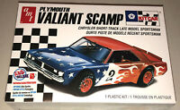 AMT Plymouth Valiant Scamp Kit Car Stock Car 1:25 model kit new 1171