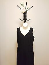 ✿♡ 'Barkins Basics' Womens Dress Size 12 (Black Pencil Evening Minimal Chic) ♡✿