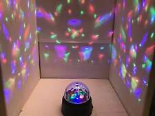 Global Gizmos Crystal Starball Disco Light Party Multi Coloured Battery Operated