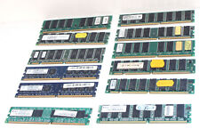 Lot 12 barettes de RAM - SDRAM - DDR - DDR2 - 256MB - 512MB - 1Go...