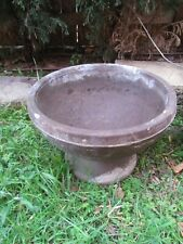 A concrete  Garden pot -  45 cm Diameter , 31 cm high