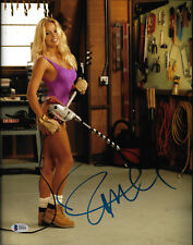 Pamela Anderson Signed 11x14 Photo - Pam Sexy Home Improvement Beckett BAS