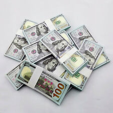1000pcs New Versions USD $100 Play Money 1:1 Size Fake Banknotes Paper Money UNC