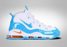 Nike air max uptempo 95 white / blue / gold UK 7 / US 8 / EU 41