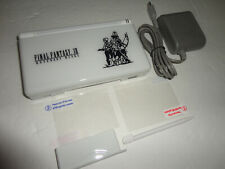 Nintendo DS Lite  Edition white final fantasy xII revenant wings Handheld System