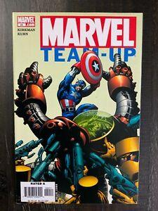 Marvel Team-Up (2004 Vol. 3) #20 VF/NM comic featuring Captain America!
