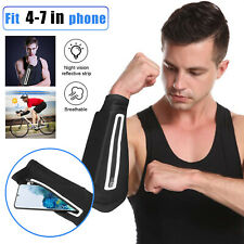 Armband Cell Phone Holder UV Sun Protection Arm Sleeves Bag Gym Running Jogging