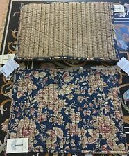 """LINDEN STREET JCP  Quilted Placemat Set of Six 13"""" X 19"""".     NWT"""