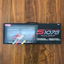 Remote Controlled Mini Helicopter Infrared RC Syma Radio Metal Series S107g
