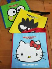 HELLO KITTY Cost Plus World Market Exclusive Bag Black Friday NEW Tote Set badtz