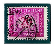 ITALIA REP. - Segnatasse - 1956 - Filigrana stelle. Tinte di stampa: diverse ton