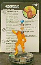 Marvel Heroclix Spider-Man & Venom: Absolute Carnage 034 Molten Man NEW+CARD
