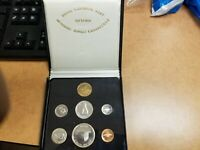 Canada 1967 Silver Dollar Mint Set In Leather Case Of RCM.