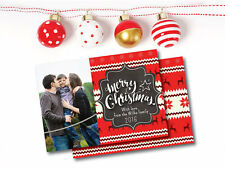Printable Photo Christmas Card Holiday Greeting