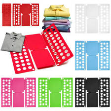 Clothes Folder Board Organizer for Closet Room Laundry Dress T-Shirt Flip & Fold
