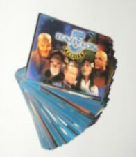 1999 BABYLON 5 PROFILES TV COMPLETE 100 CARD BASE SET BY SKYBOX