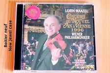 Concert Nouvel An 1996 - Lorin Maazel - Edition Limitée - 2 CD RCA Victor
