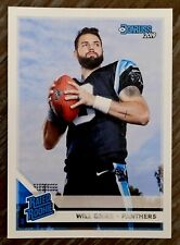 Will Grier 2019 Donruss Football - Rated Rookie #305 - Carolina Panthers