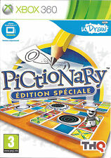 U DRAW PICTIONARY ULTIMATE EDITION for Xbox 360 - with box & manual - French