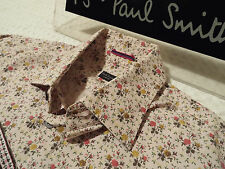 """PAUL SMITH Mens Shirt 🌍 Size 15.5"""" (CHEST 42"""")🌎RRP £95+📮 FLORAL LIBERTY STYLE"""