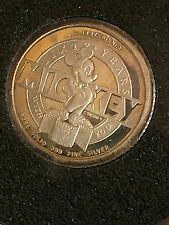 Mickey Mouse 60 Year Solid Silver Coin