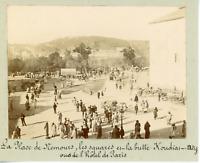 Algérie, Constantine, la place Nemours, vue prise de l'hôtel de Paris  Vint