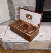 "Antique Cuesta-Rey Ambassador Cabinet Large Dovetail Wood 17"" Long 6pc Cigar Box"
