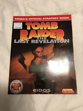 Tomb Raider The Last Revelation Prima Official Strategy Guide PS1 Game Guide