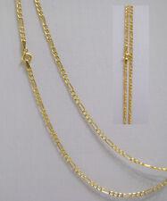 Neuware 333 echt Goldkette im modernem Figaro Design 8 Karat Gold Kette 45 cm