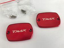 COUVERCLE DE MAITRE CYLINDRE ROUGE YAMAHA 500 TMAX T-MAX T MAX 08-11 530 12-14