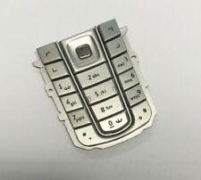 Original Nokia 6230i Tastatur Tastaturmatte Tasten Keypad Silber