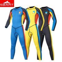 Kids Diving Suit 2MM Neoprene Wetsuit Children Swimwear Keep Warm Winter Swim