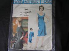 Vogue Paris Original JO MATTLI 1329 Pattern, 1960s Size 12 UNPRINTED UNCUT