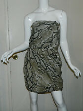 New Women Michael Kors Sleeveless Animal Print Bubbly Wing Dress Size 6 NWT $150