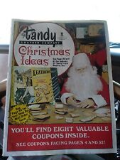 Tandy Leather Factory Company Catalog Vintage Leather Craft F/S #11172 pages 50