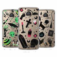 HEAD CASE DESIGNS SPOOKY NIGHT SOFT GEL CASE & WALLPAPER FOR MOTOROLA PHONES
