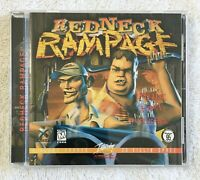 REDNECK RAMPAGE CD in Jewel Case Shooter Game for PC 1997 Interplay