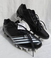 NEW ADIDAS Men's Black American Football Cleats Scorch Thrill Super Shoes 13.5