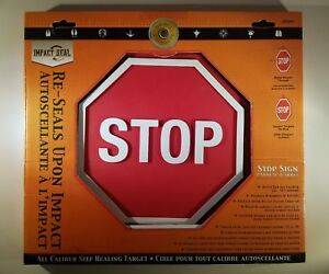 """Do-All Outdoors - Stop Sign 9"""" Self-Healing Target, Rated for .22 - .50 Caliber"""