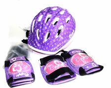 casco infantil proteccion con coderas y rodilleras patinaje etc