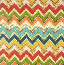 Outdoor/ Indoor ~ Medium Weight Upholstery~ ZIG ZAG CHEVRON ~ Fabric~ 1/4 yard