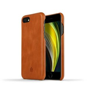 Novada Genuine Leather iPhone 7, 8 & SE Back Case Cover