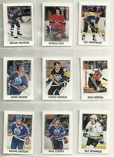 1987-88 O-PEE-CHEE 42-card mini Hockey Set  Wayne Gretzky  Mario Lmieux  P Roy